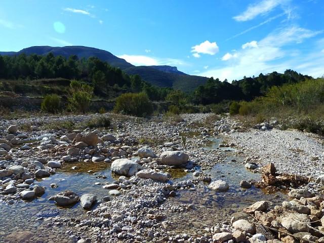 Aguas arriba del Río Xaló